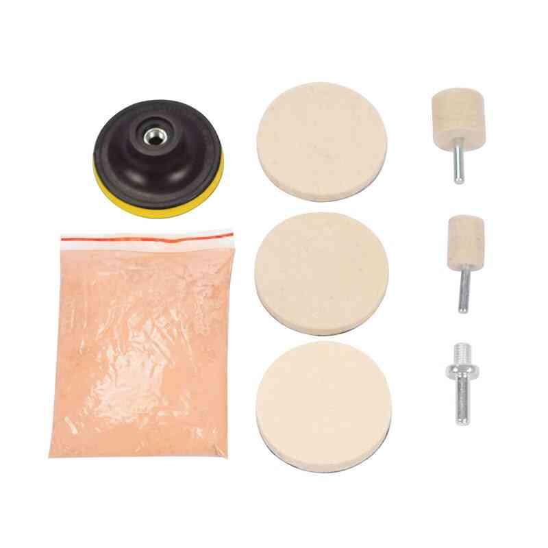 Cerium Oxide Glass Polishing Powder Kit For Deep Scratch Remover