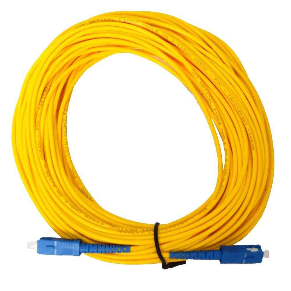 Fiber Optic Jumper Cable Sc/pc-sc/pc Fiber Optic Patch Cord