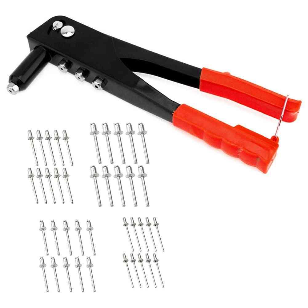 Alloy Steel- Rivets Repair, Pull Cap, Hand Riveter Set Tool