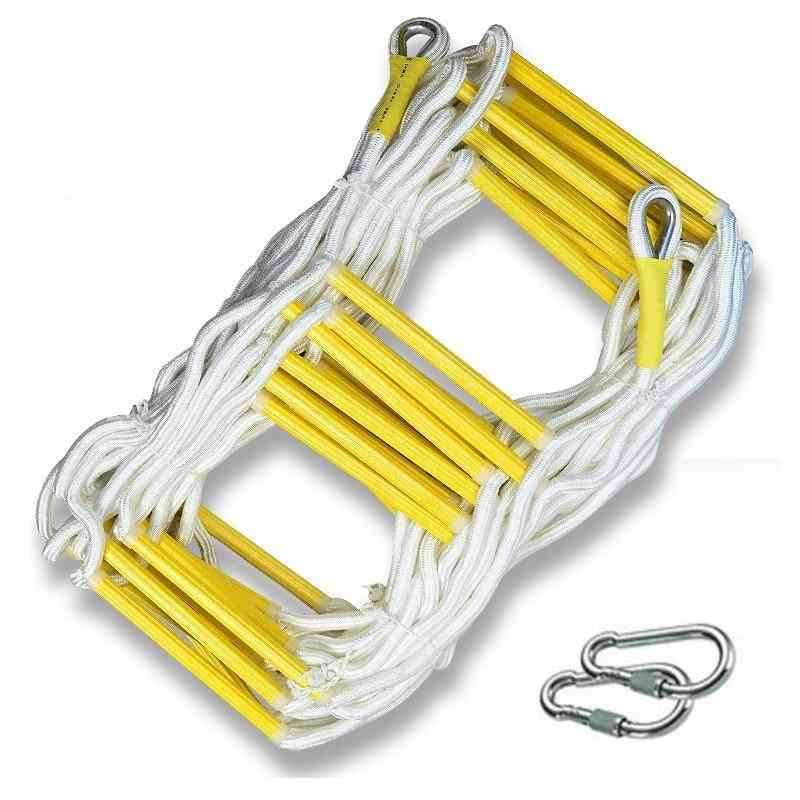 10m- Rescue Rope, Ladder Escape For Emergency Fire Rock, Outdoor Protect