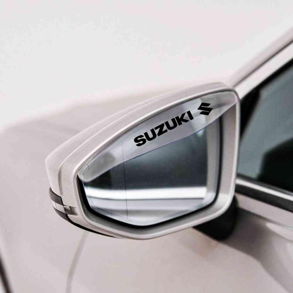 2pcs- Sunshade Car Rearview, Mirror Protector, Rain Eyebrow Cover