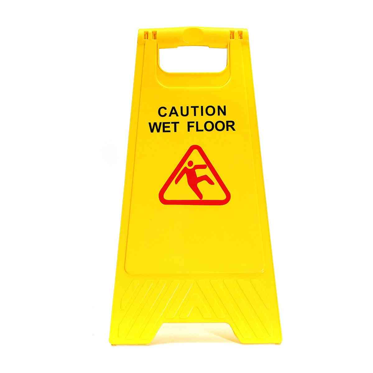 Yellow Caution- Wet Floor, Warning Sign Tool