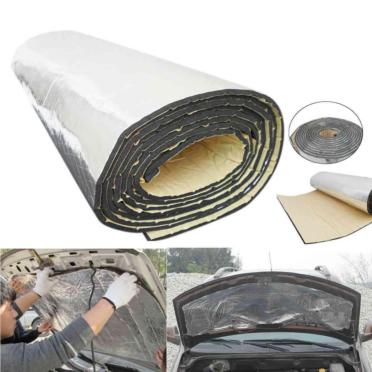 Car Auto- Sound Proofing, Deadening Insulation Foam, Noise Bonnet, Foam Sticker