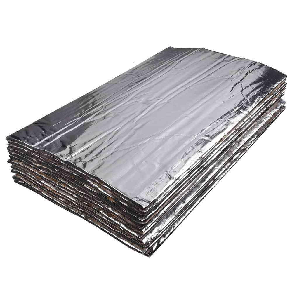 Car Heat Shield Insulation Deadening Pad, Firewall Sound Deadener Mat