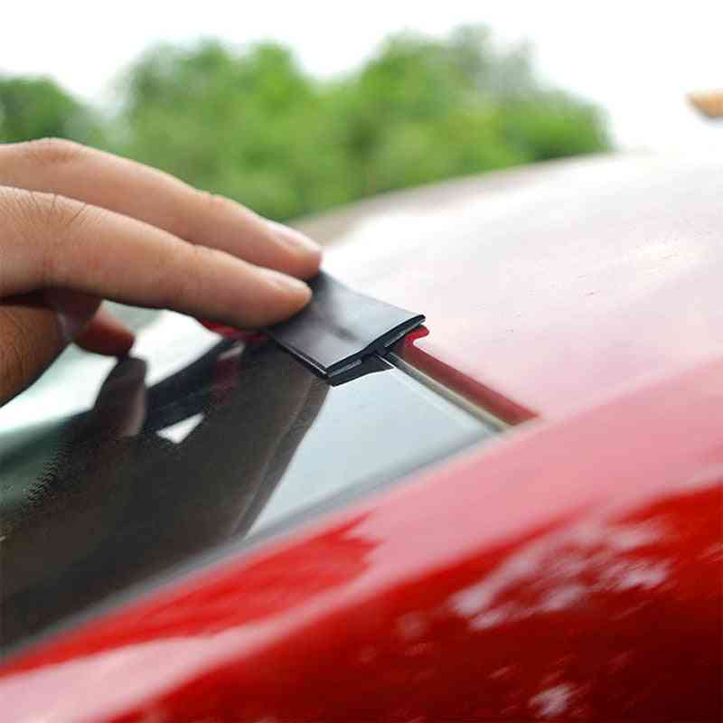 Car Roof Protector Noise Insulation Front Rear Windshield Edge Sealing Strips Sticker
