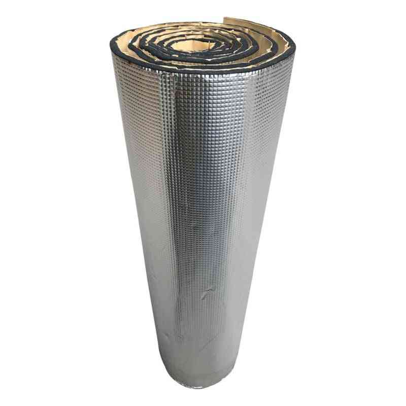 Self-adhesive Aluminum Plate Noise Insulation For Car Rubber Plastic Cotton Thermal Insulator Fire Protection
