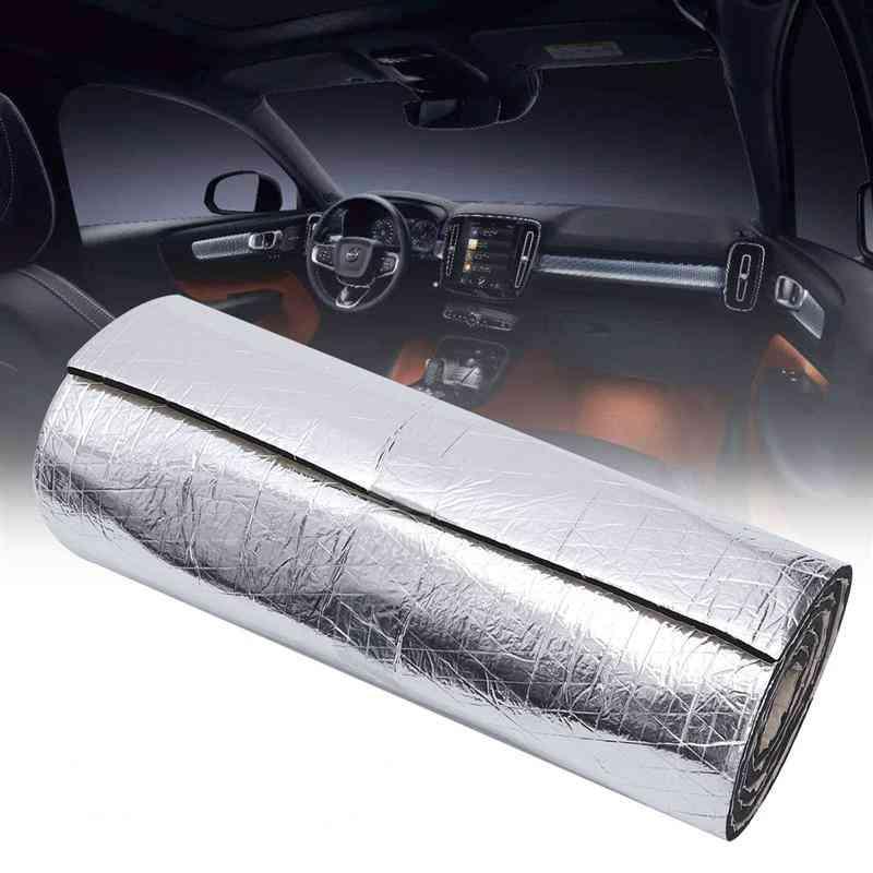 Foam Cotton Auto Car Mat Deadener Reduction Noise Sound Insulation Cotton-door Trunk Soundproof