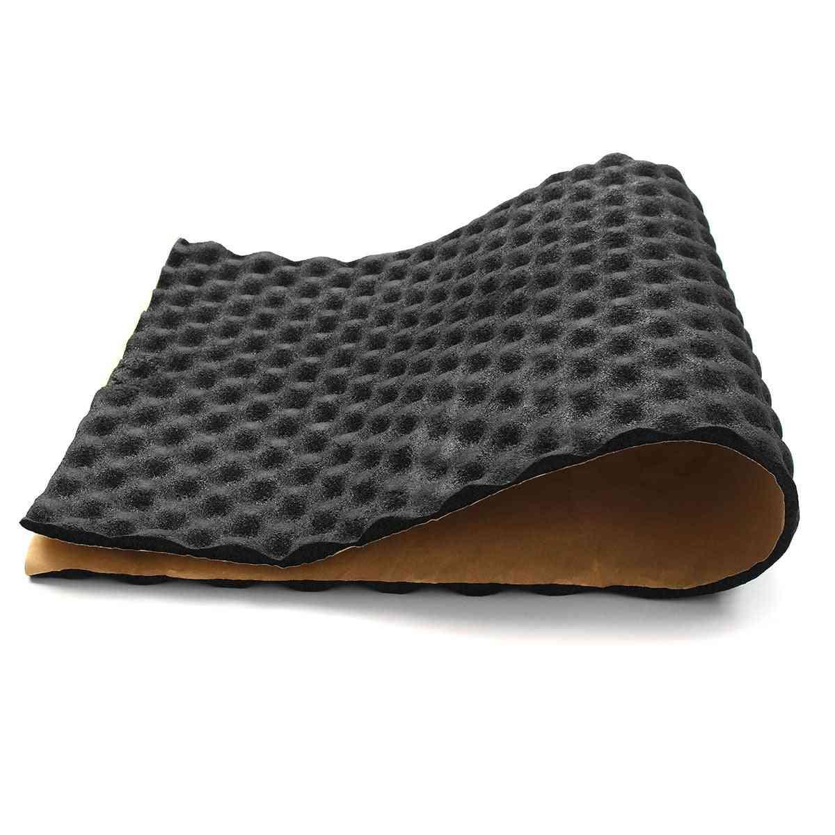 Noise Proof Bonnet Insulation Deadening Hood Engine Heat Foam Mat