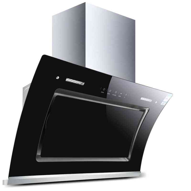 Double Motor Heat Cleaning Larger Suction Range Hood