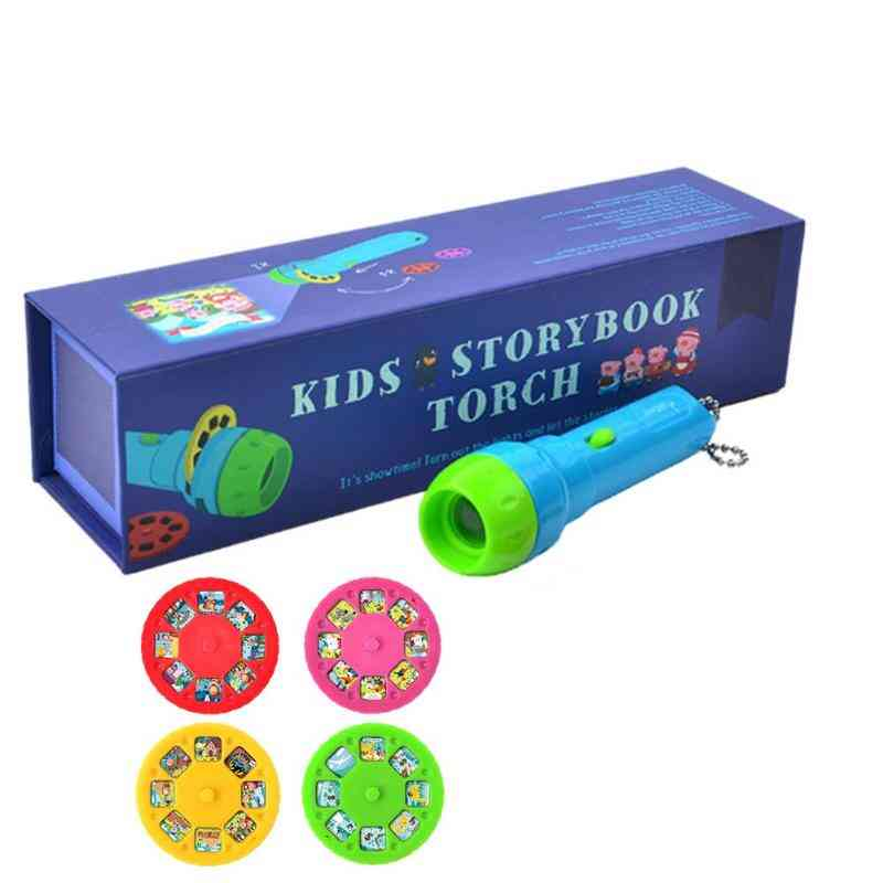 Mini Projector Torch / Flashlight, Educational Light-up Toy
