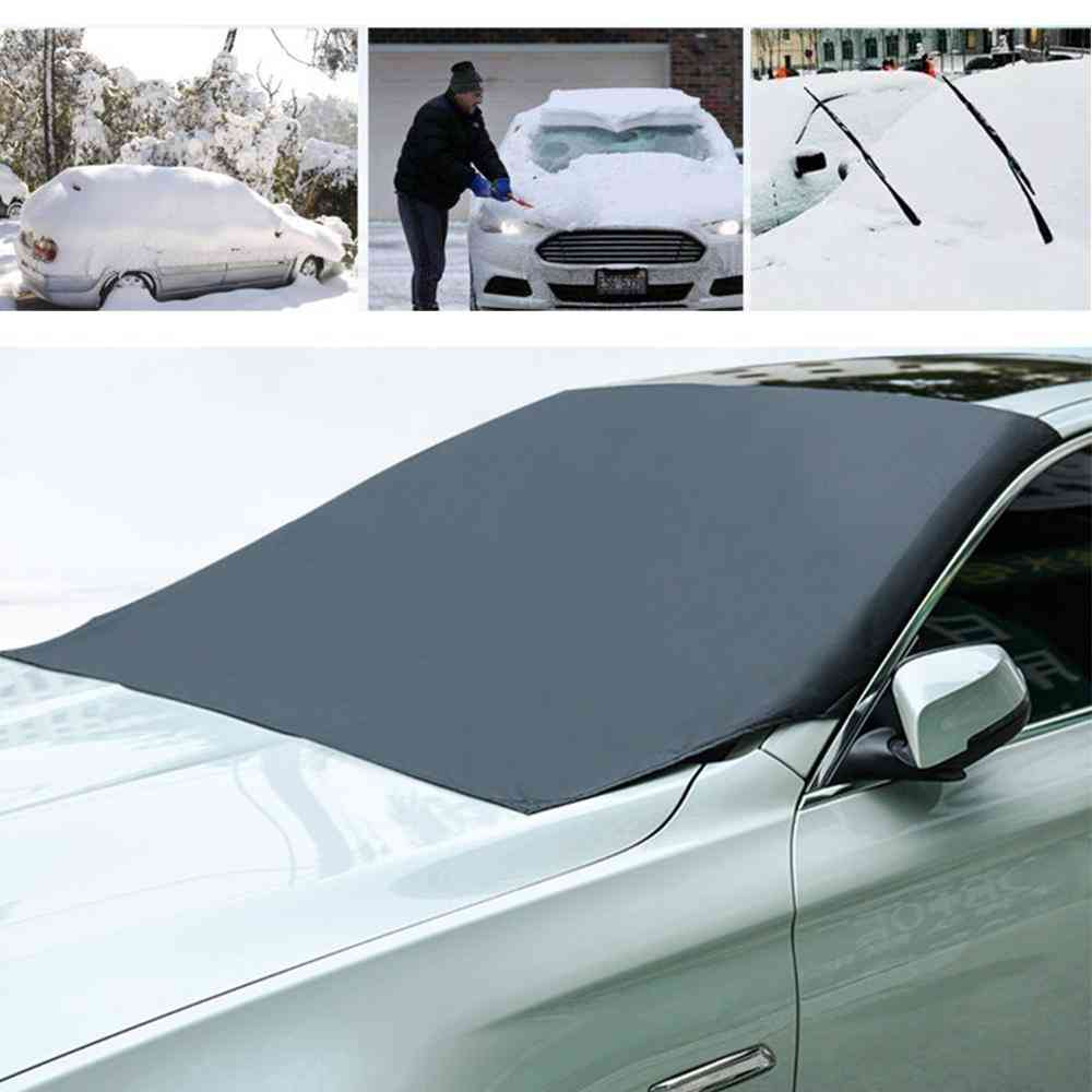 Magnetic Car Front Windscreen Snow Ice Anti-fog Protector Cover