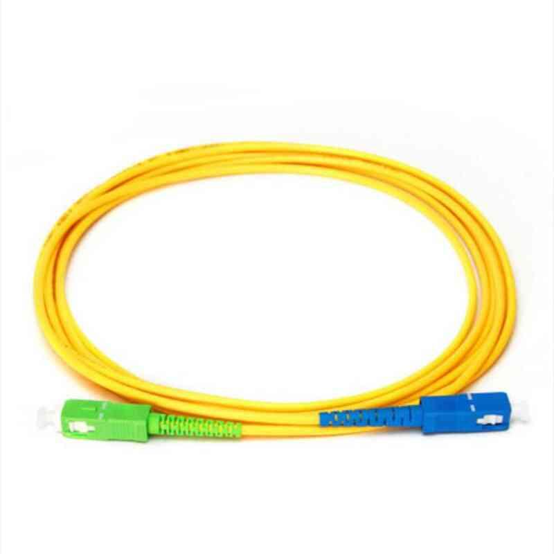 Sc Apc Upc Single Mode, Simplex Fiber Optic Patch Cord Jumper
