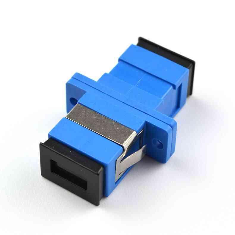 Fiber Optic Connector Adapter Sc Upc Sm Single Mode Simplex Flange Coupler