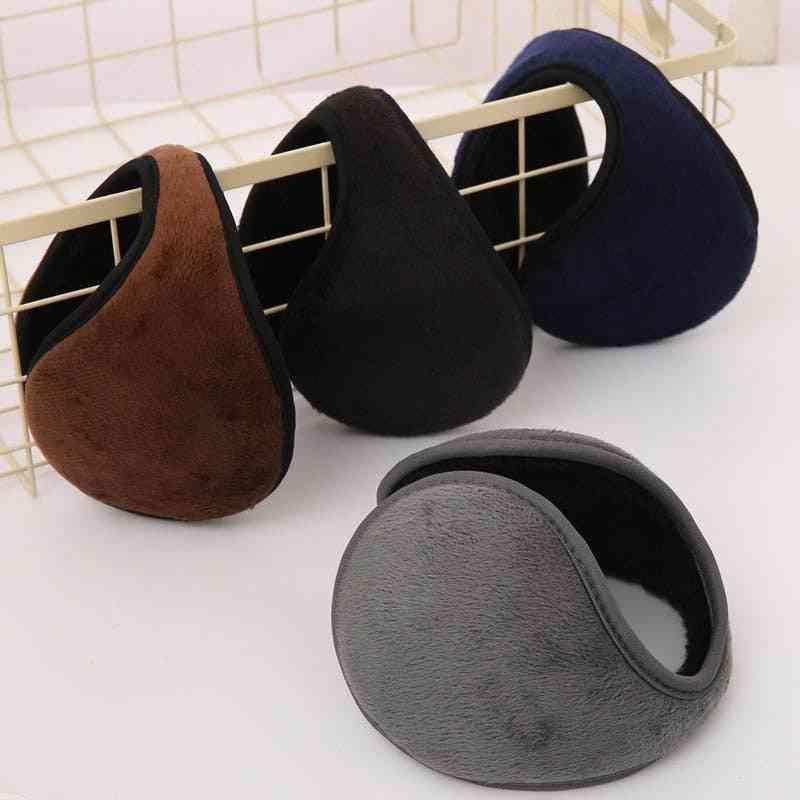 Winter Soft Thicken Plush Ear Cover, Protector Ear-warmer Earflap