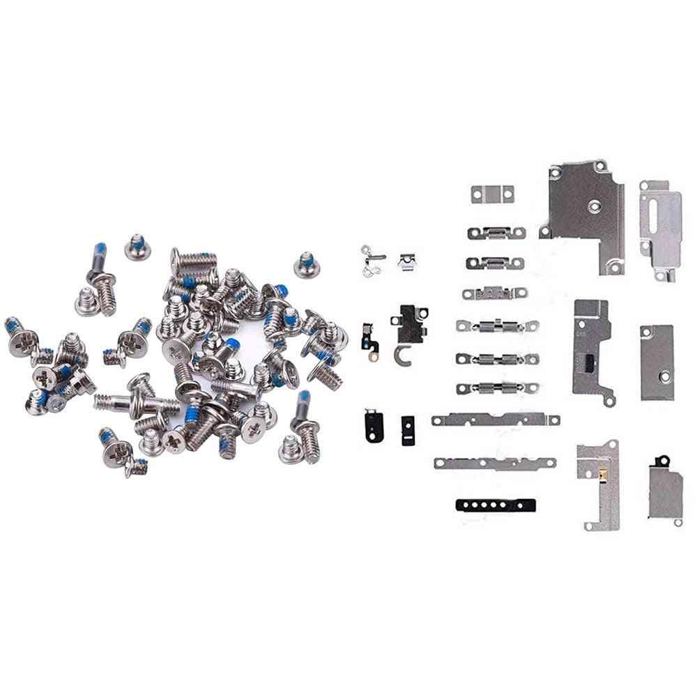 Repair Replacement Parts Metal Holder Bracket Fastening Pad Spacer & Full Set Screws