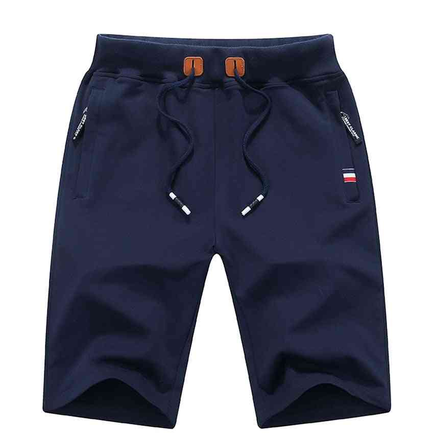 Summer Casual Cotton, Breeches Bermuda's, Homme Shorts's