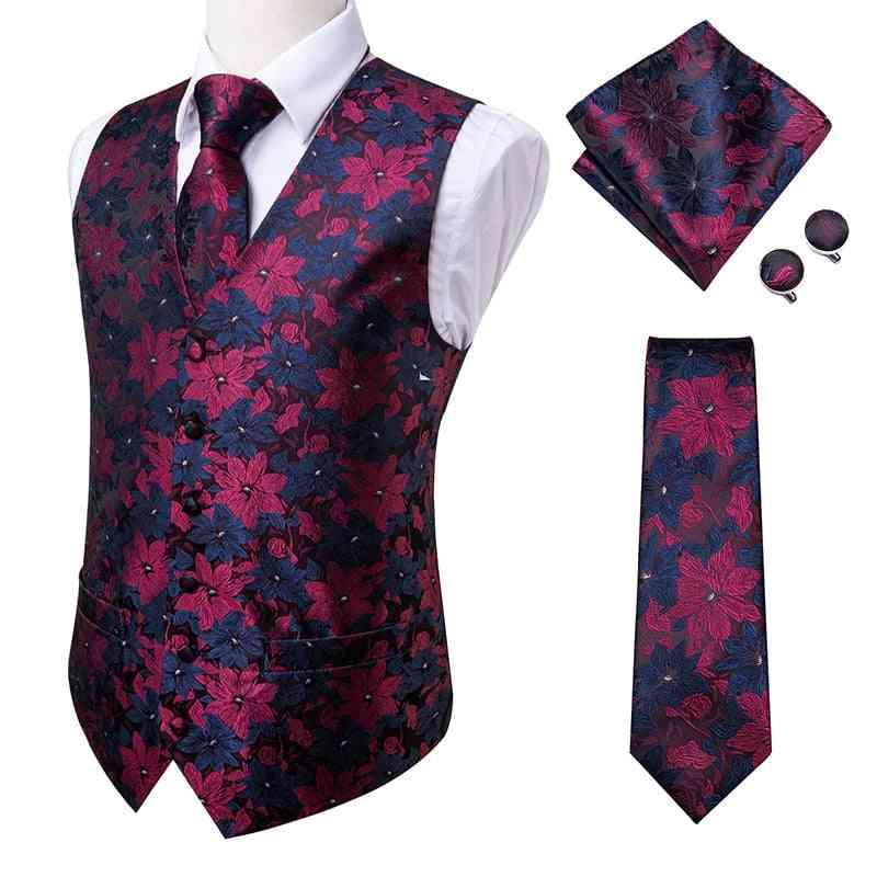 Vests/ Tie Slim, Hanky Cufflinks, Suit Waistcoat's