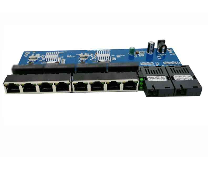 Fast Ethernet Fiber Media Transceiver Converter