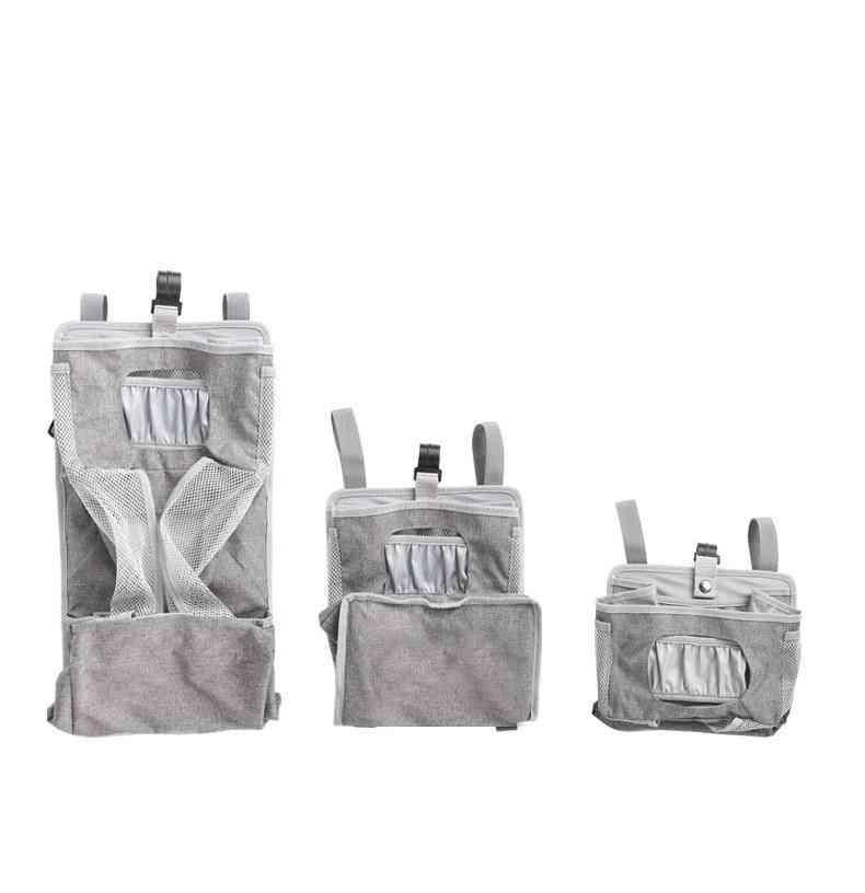 Crib Storage Bag, Multifunctional Hanging Bags