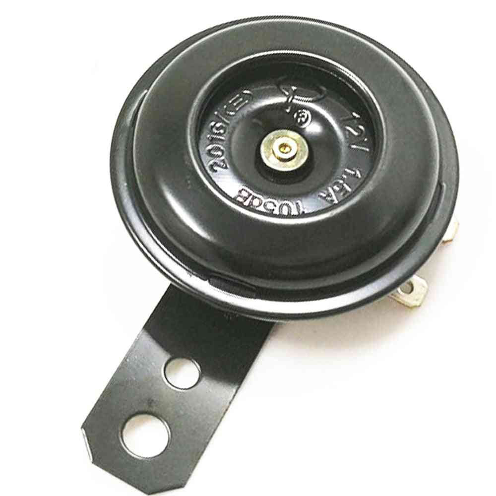 Motorcycle Electric Horn Kit, Waterproof Round Loud Horns / Speakers