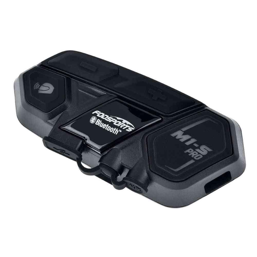 M1-s Pro Helmet Intercom Headset Motorcycle Bluetooth Interphone 8 Rider 2000m