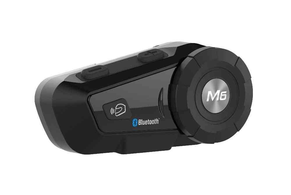 M6 Plus 1000m Motorcycle Bluetooth Helmet Headsets Intercom For Fm Bt Wireless Interphone Mp3