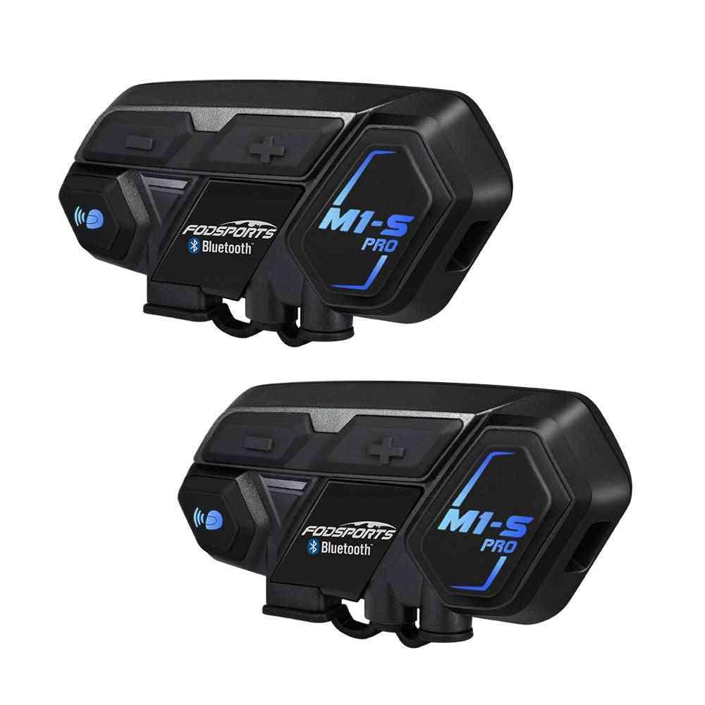 M1-s Pro Motorcycle Helmet Intercom  Headset