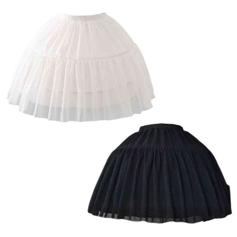 Cosplay Fish-bone Short Skirt, Lolita Carmen Slip Liner Cute Adjustable Petticoat