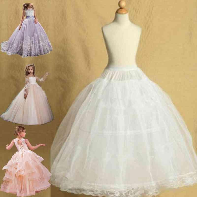 Petticoats For Flower Dresses Little Crinoline Hoop Skirt Lolita Underskirt