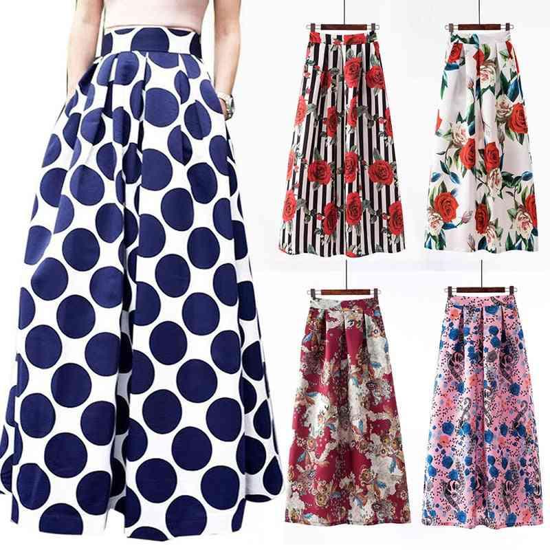 Women Girl Long Skirt