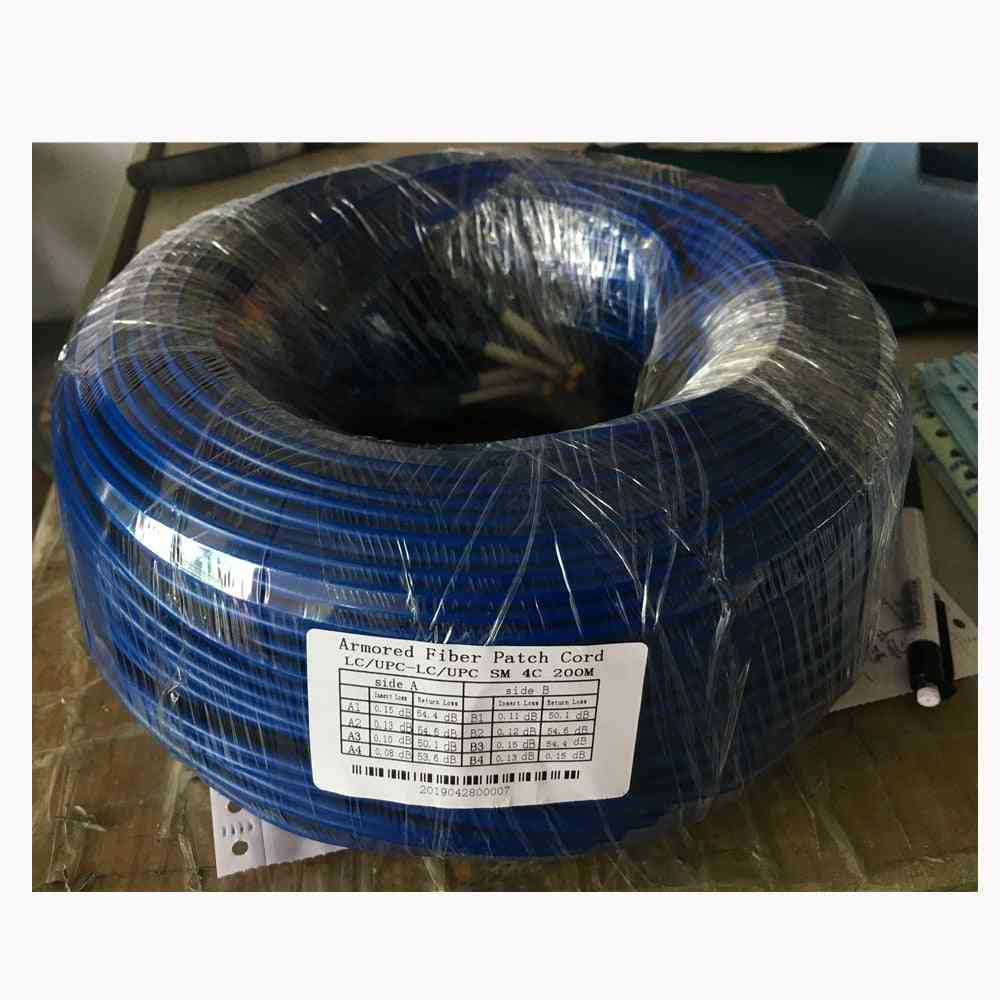 Singlemode Armored Patch Cord Optical Fiber Jumper Cable