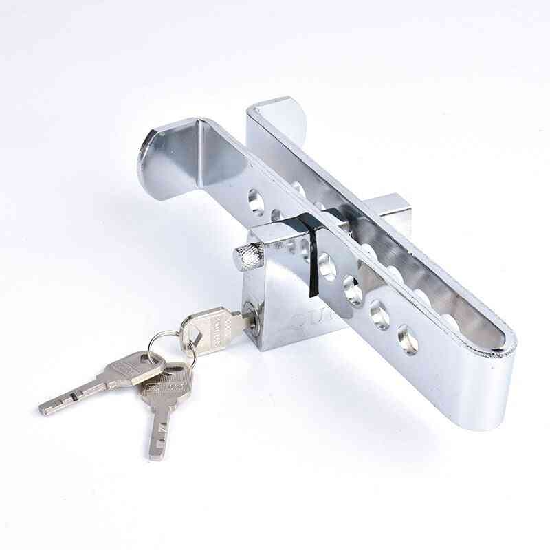 Car Brake, Clutch Pedal Lock, Steel Anti-theft, Strong Security, Locks Accessories