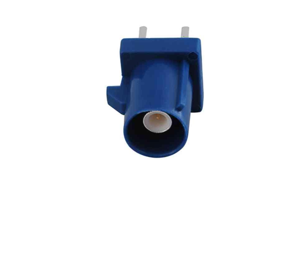 Superbat Car Antenna Fakra C Plug, Pcb Mount Straight Connecntor For Gps Telematics