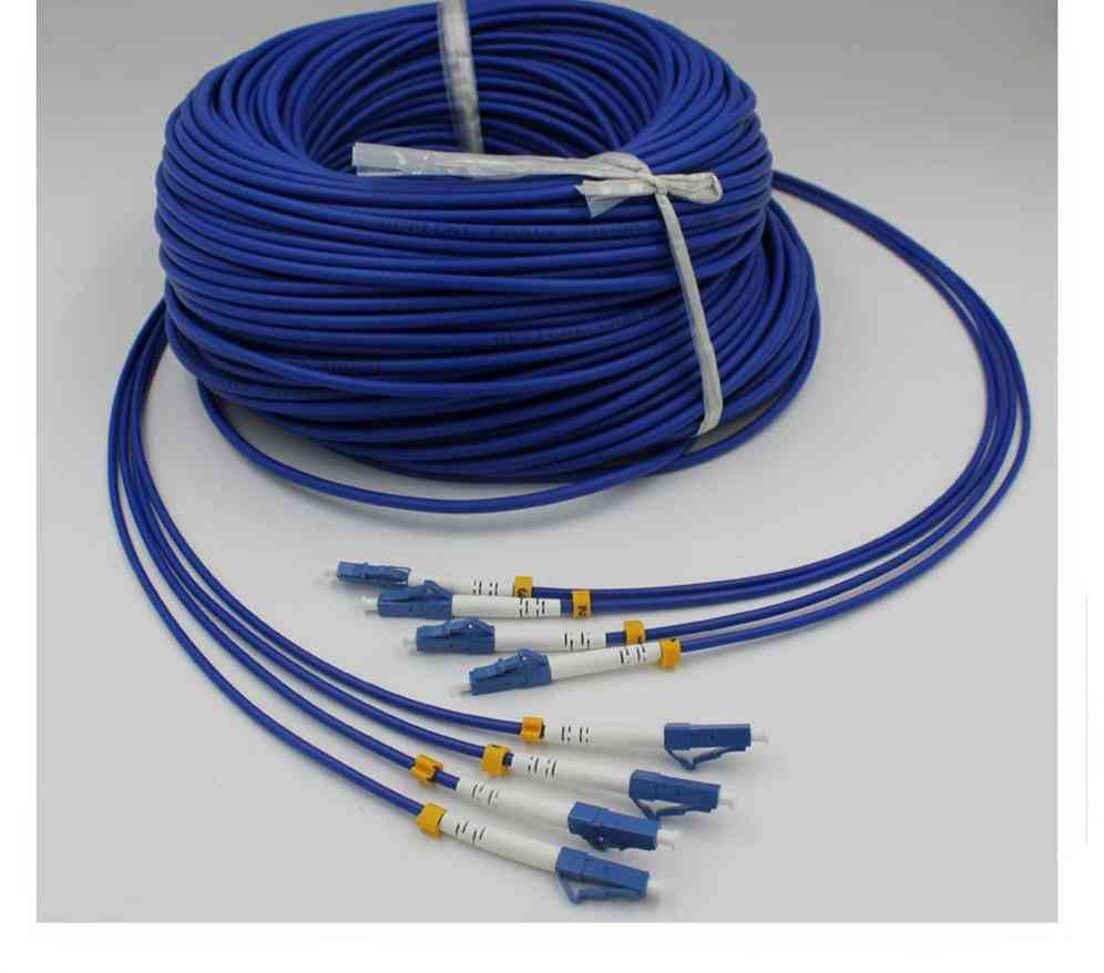 Armored Pvc- Optical Fiber, Patch Cord, Single-mode, Jumper Cable