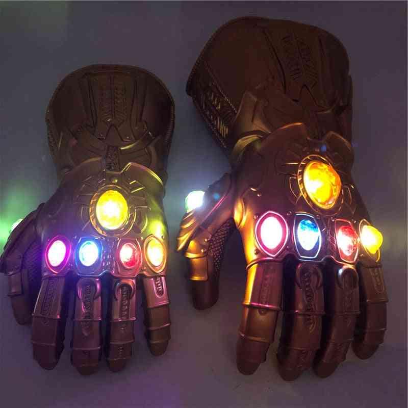 The Thanos Endgame 4 -gauntlet Cosplay Stones Led Gauntlet Gloves
