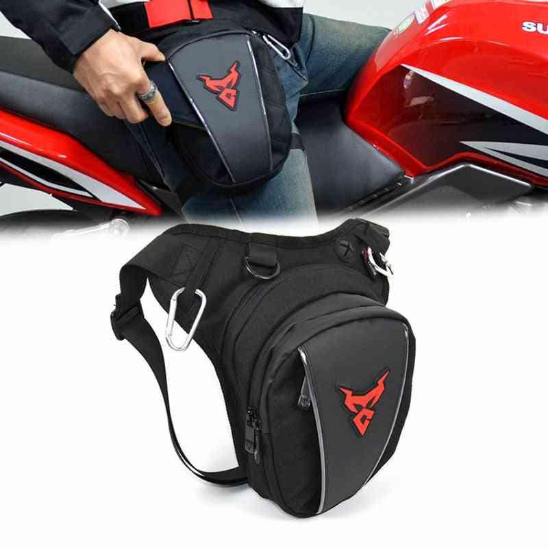 Waterproof Drop Waist Leg Bag Thigh Belt Hip Bum Motorcycle Bag