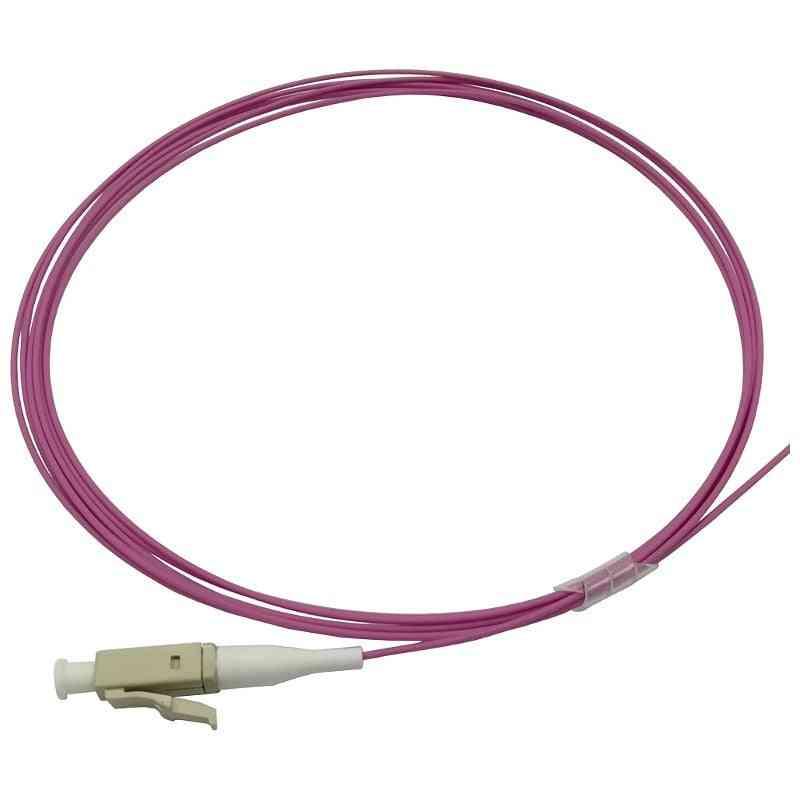 Pigtail-lc Om4, Purple Lszh, Jacket