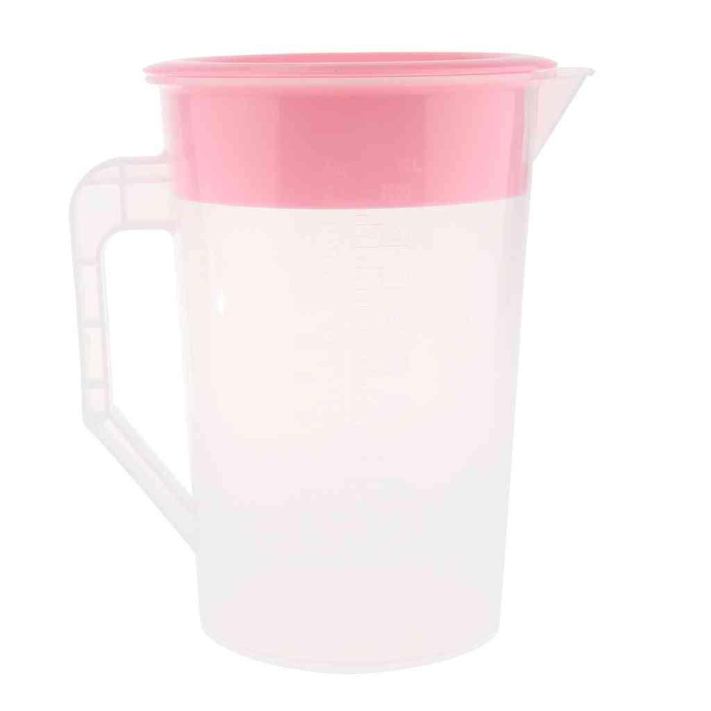 Juice Water Jug, Carafe Iced Tea, Pitcher With Lid Tea, Pot Plastic