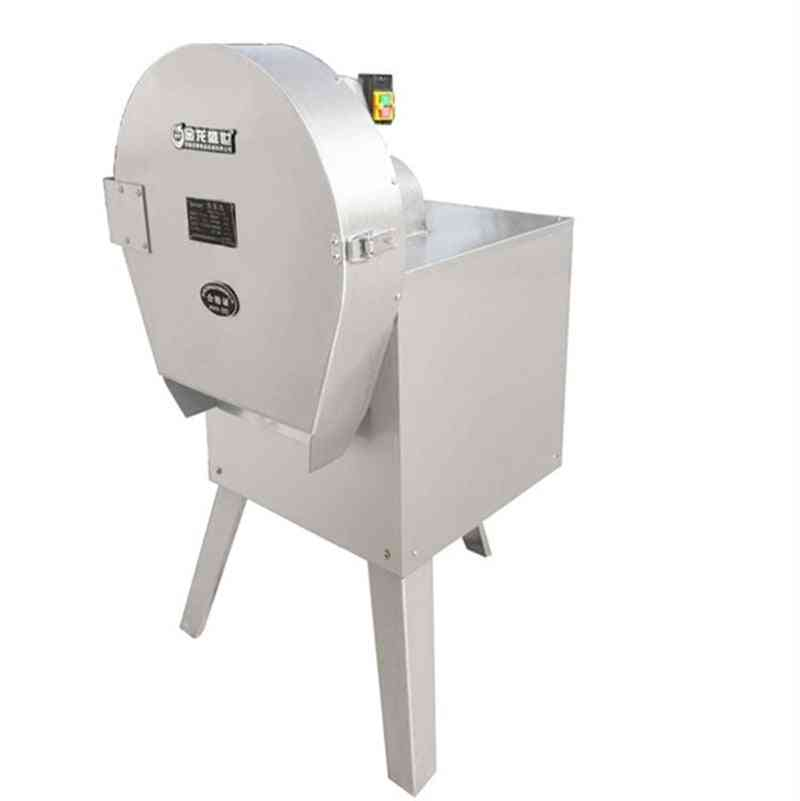 Bar Cutting Machine, Commercial Use Electric Chip Cutter Carrot Slice Shredder
