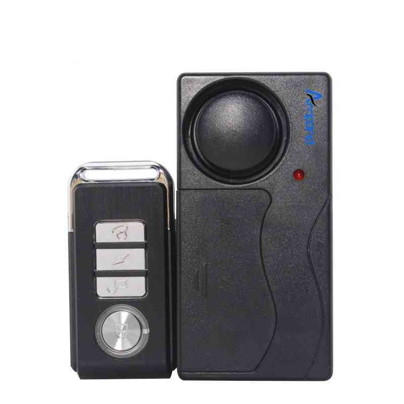 Wireless Remote Control, Vibration Door/ Window, Detector Burglar Alarm