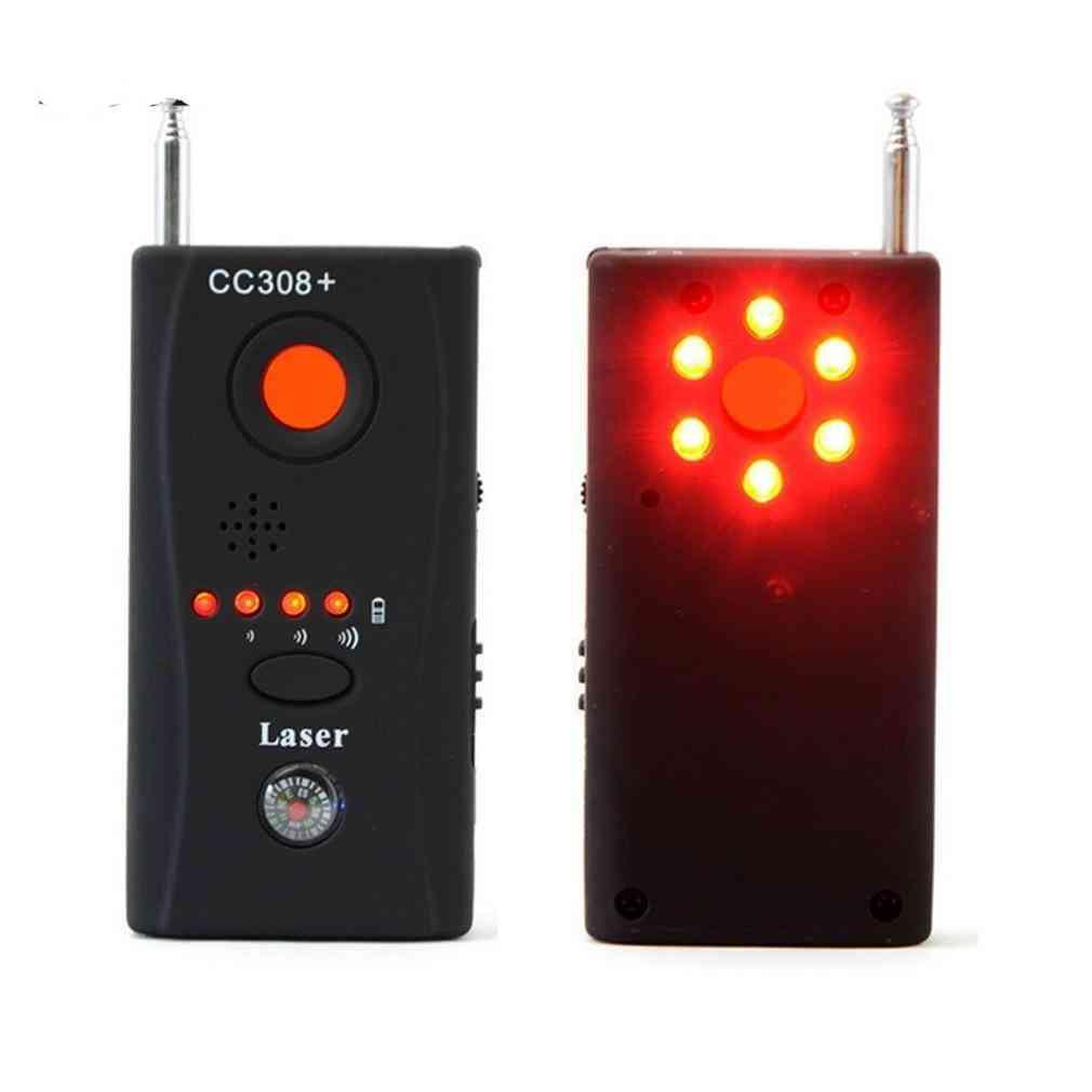 Cc308- Bug Detector, Eu Power Adapter, Mini Wireless Camera Hidden, Gsm Device Finder