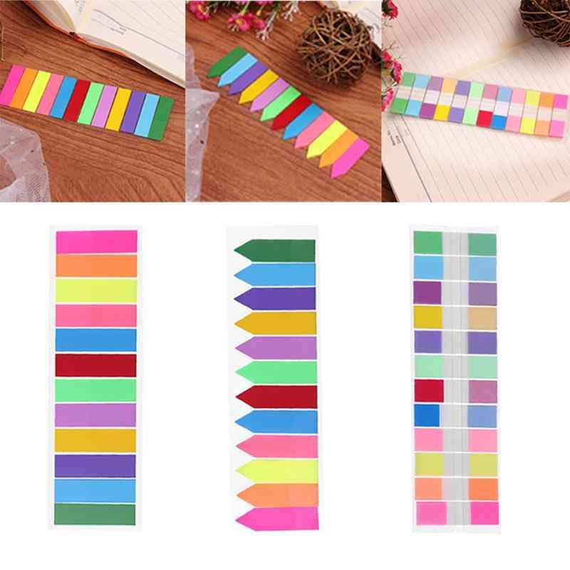 Index Memo Pad Stickers-sticky Notes
