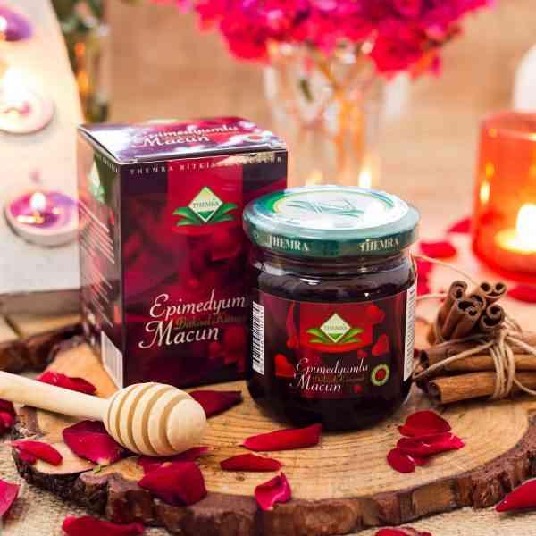 Turkish Epimedium-honey Plant Paste/goat Weed Aphrodisiac