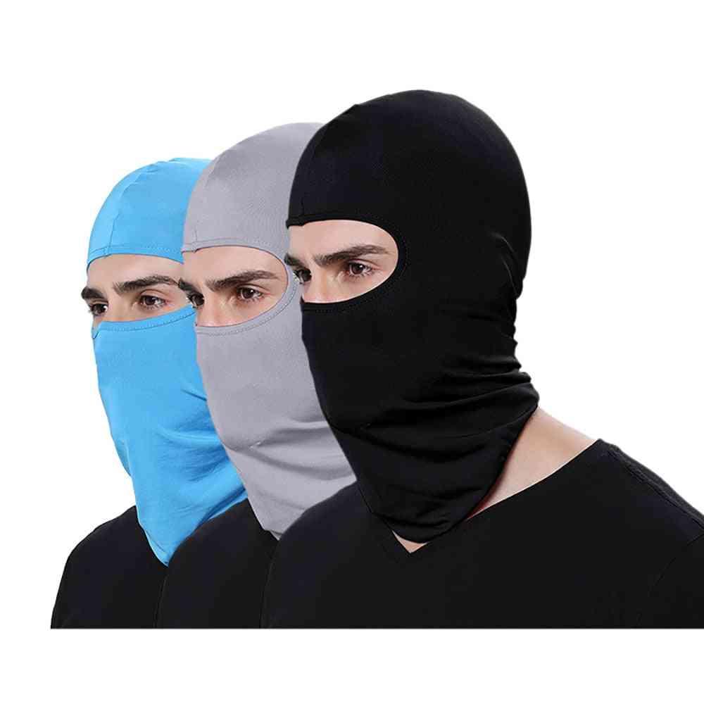 Motorcycle Tactical Face Shield Mascara Ski Mask
