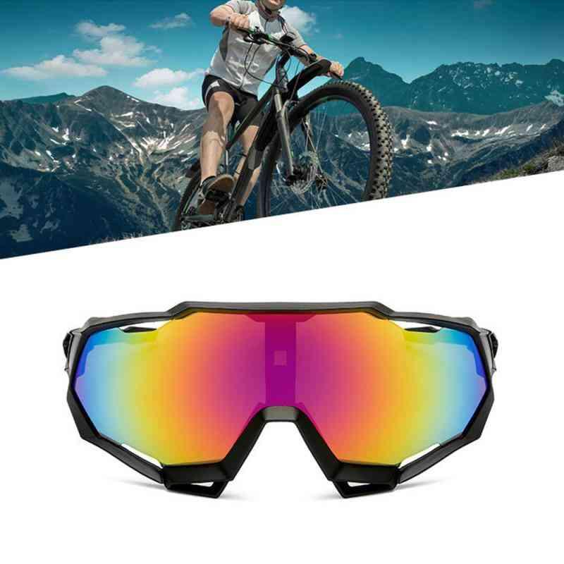 Pc Explosion-proof Professional Polarized, Sunglasses Uv Bike Goggles