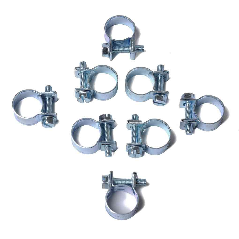Mini Clamp Fuel Injection Air Hose Clamps, Diesel / Petrol Pipe Clips