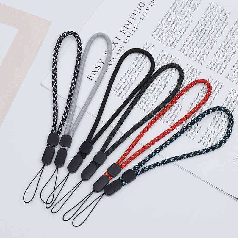 Mobile Phone Straps, Short Adjustable Hand Rope