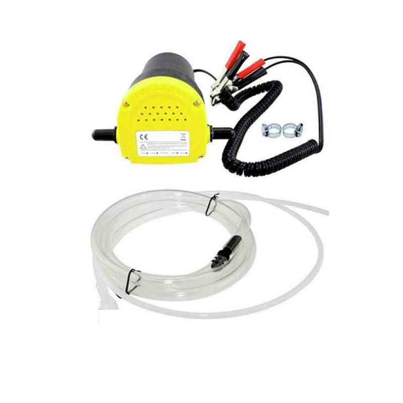 Electric Oil Pump, Suction Extractor, Transfer Pump With Tubes (yellow)