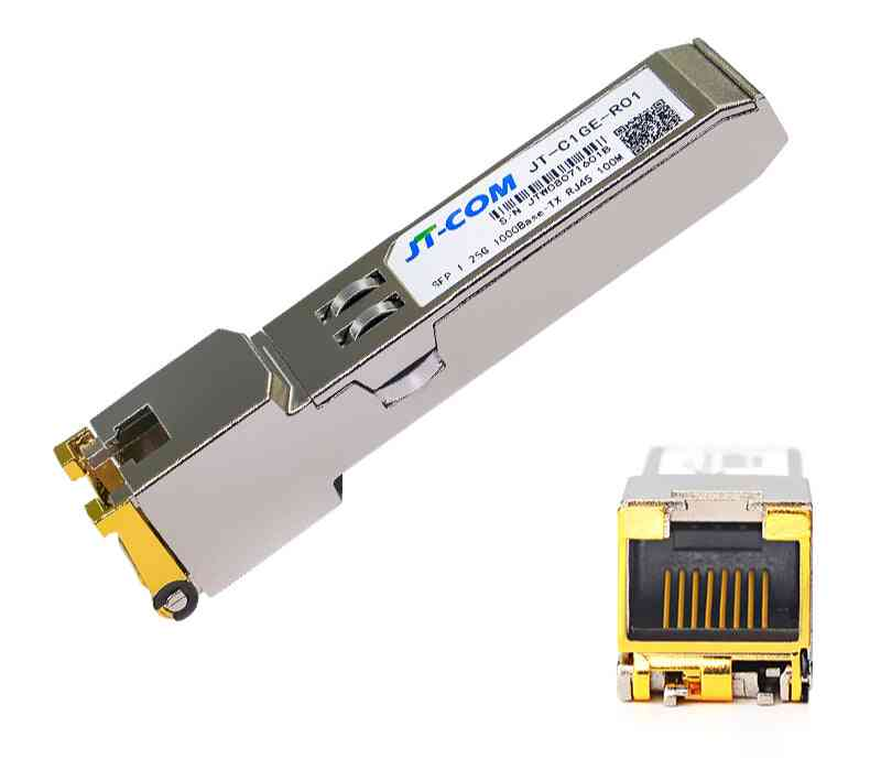 Gigabit Sfp, Copper Transceiver Module With Cisco/mikrotik, Ethernet Switch