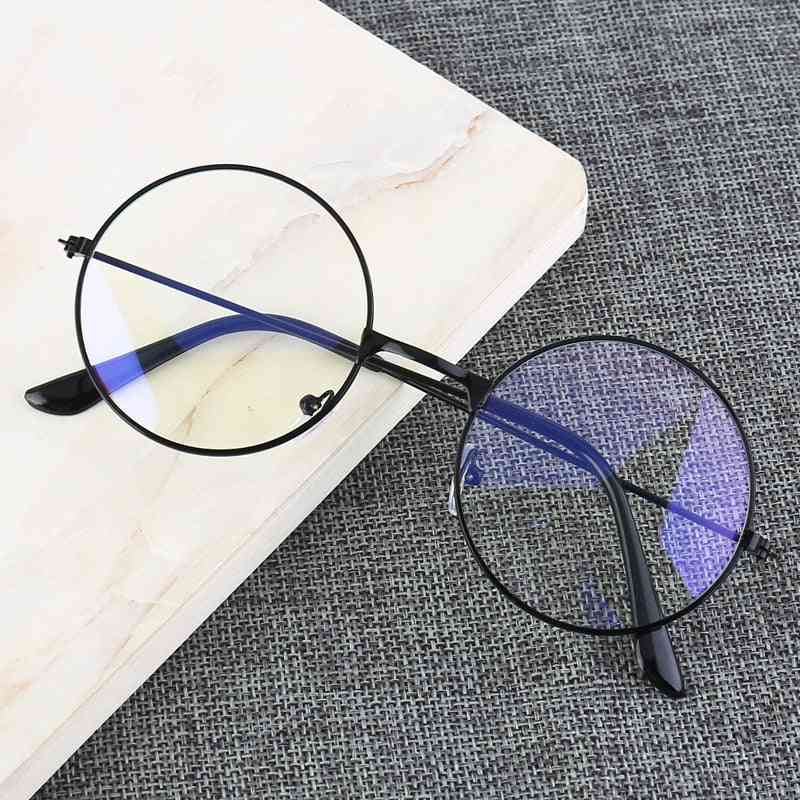 Blue Light Blocking Personality College Style Glasses For Mobile Phone Game